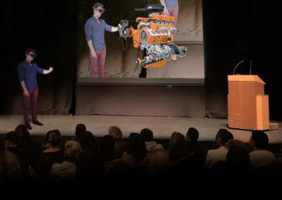 Conférence holographique