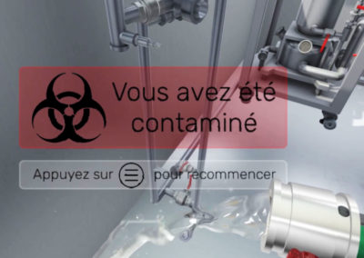 Mise en situation de danger simulé