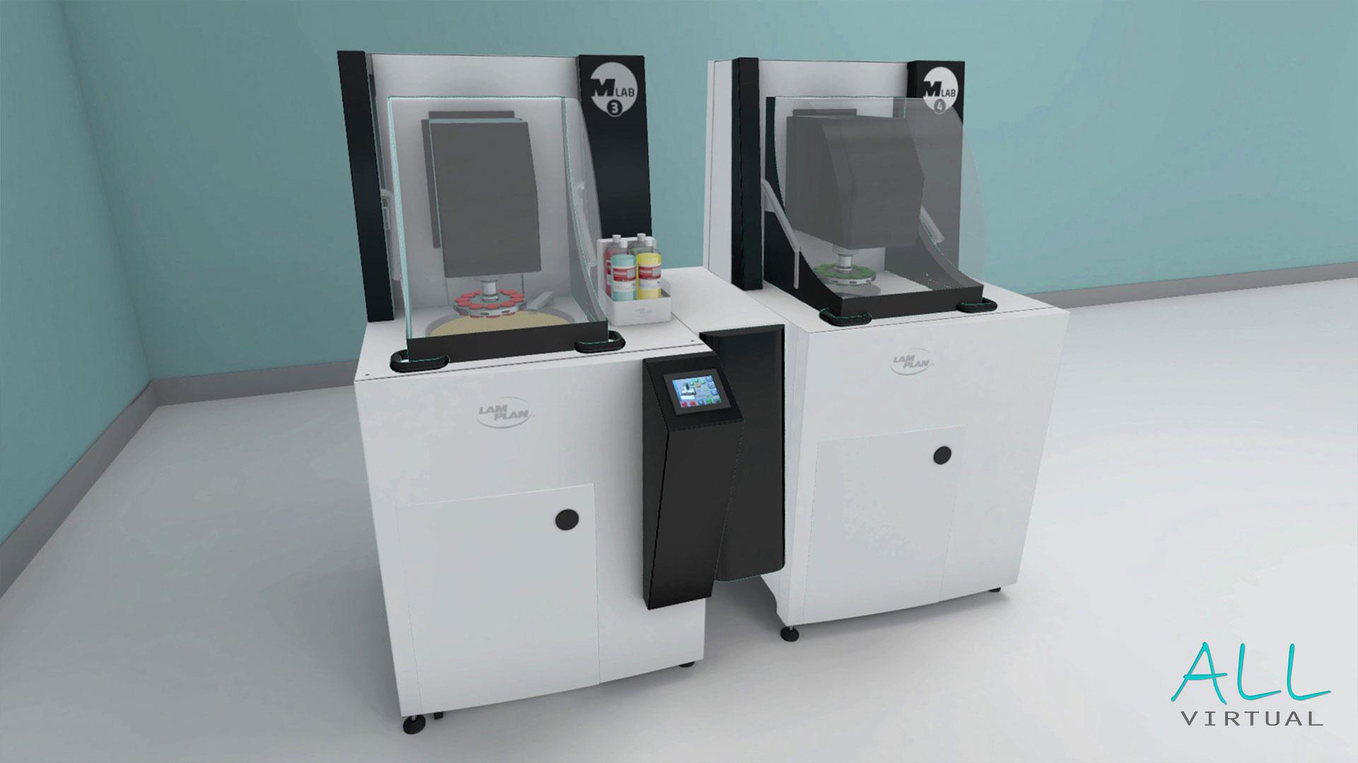 Présentation machine Lamplan